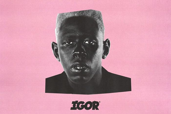 IGOR Pink Album Cover